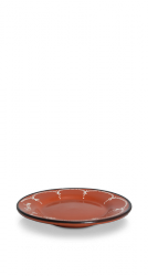Aardewerk bord M • 21,5cm-0