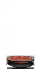 Aardewerk ovale schaal S • 25cm-0