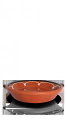 Aardewerk ronde schaal M • 24cm-0