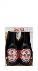 Sagres Cerveja Mini • 24x 20cl-221