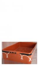 Aardewerk ovenschaal L • 43cm-145
